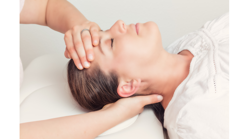 Parasympatisk massage til hjernerystelse, whiplash og stress